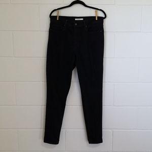 Levi's Black Slimming Skinny Jeans 32x30
